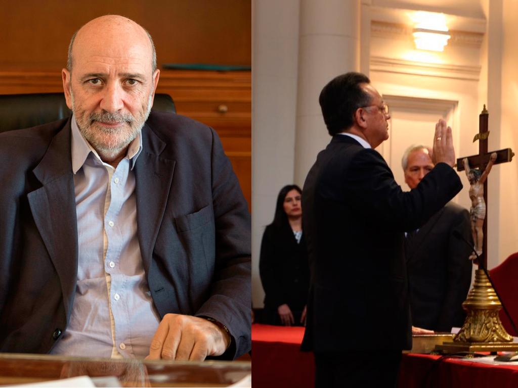 Informa sobre nuevo Contralor General de la República del Perú y sobre el nuevo Presidente de la CTPBG