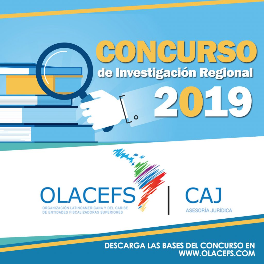 Results of the 2019 Regional Research Contest promoted by the CAJ and the Presidency