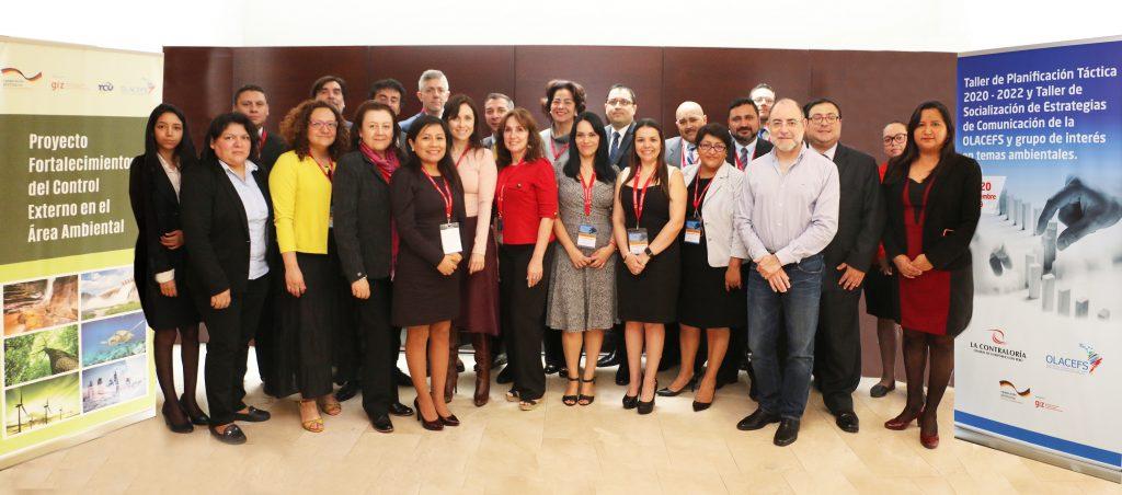 Se desarrollaron talleres sobre el Plan Táctico y Estrategias de Comunicación de la OLACEFS
