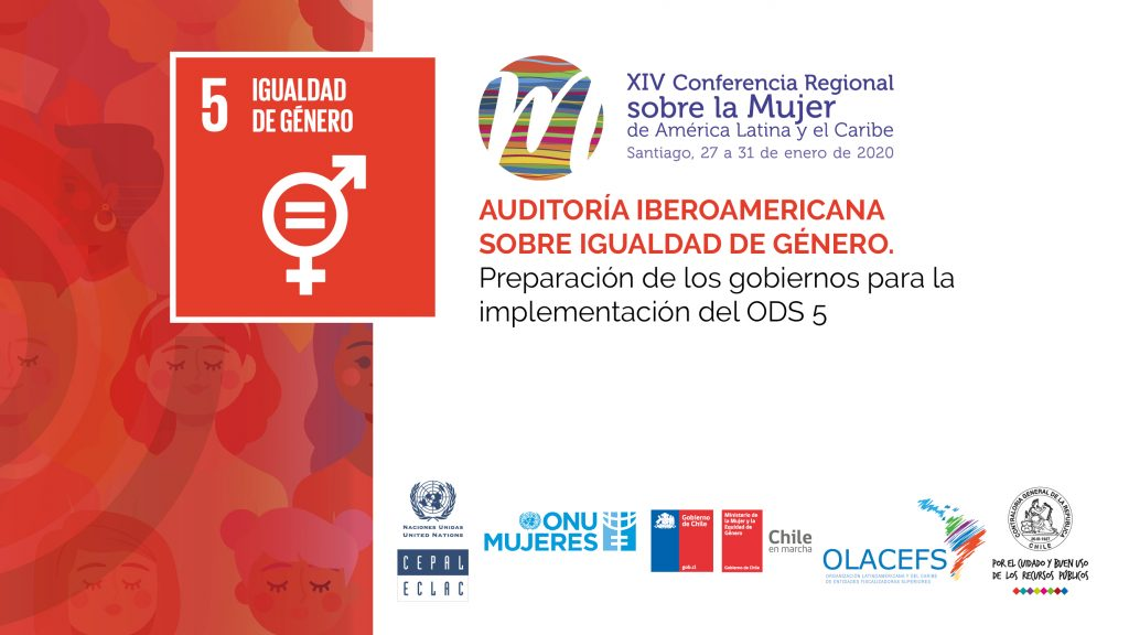 OLACEFS presents the Ibero-American Audit on Gender Equality at the XIV Regional Conference of Women in Latin America and the Caribbean