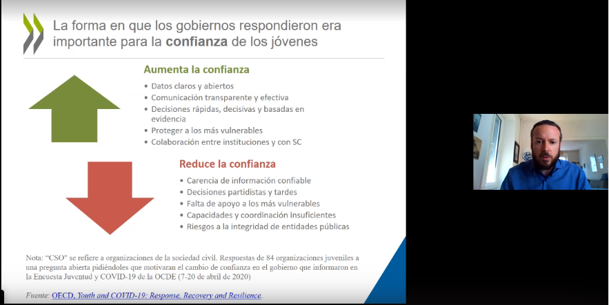 Governance in times of a pandemic was discussed in #WebinariosOLACEFS