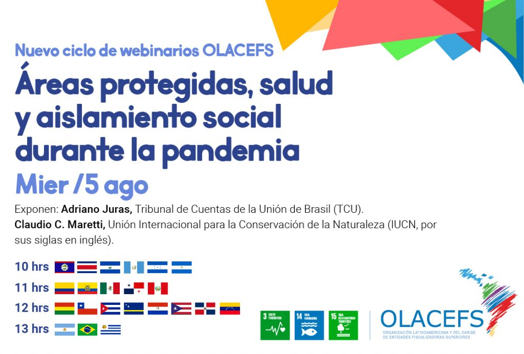 Invitation to the fifth #WebinarioOLACEFS on Protected Areas, Health and Social Isolation during the Pandemic
