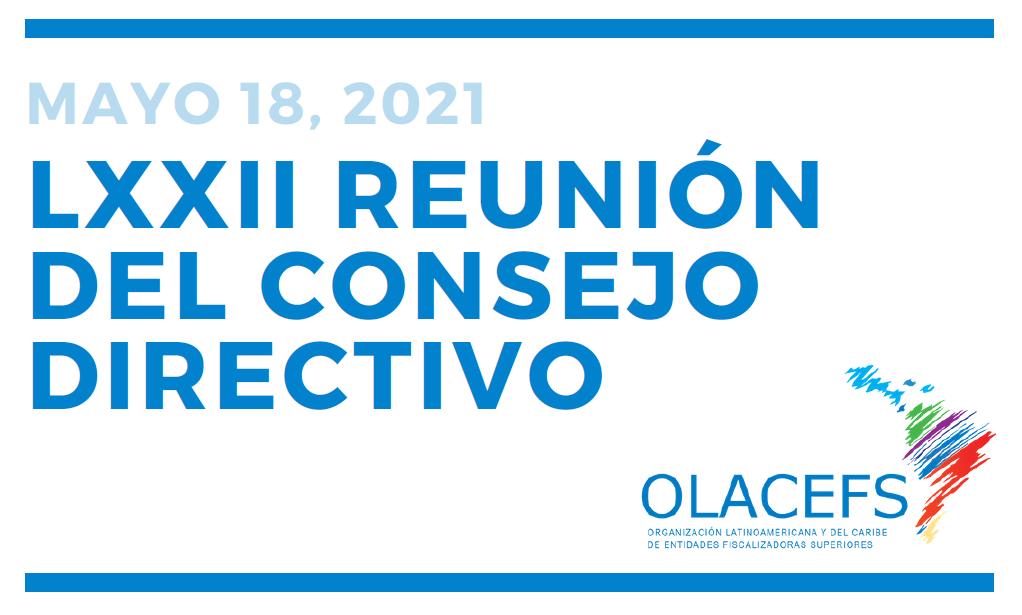 Se realizará LXXII Reunión del Consejo Directivo de la OLACEFS